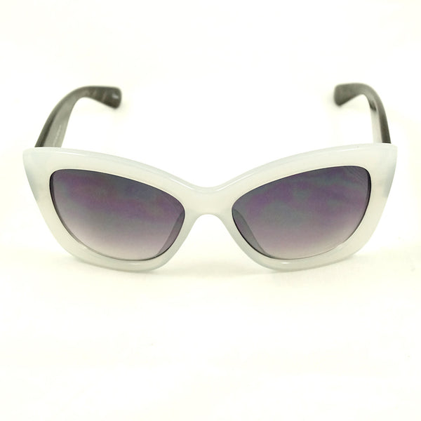 White Jet Sunglasses
