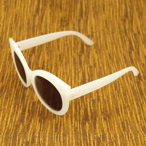 LA Sunglasses White Point Cat Eye Sunglasses for sale at Cats Like Us - 2