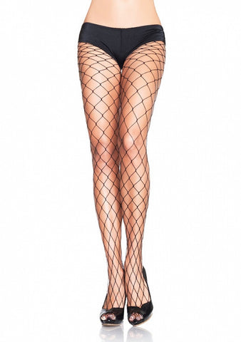 Black Fence Net Pantyhose by Leg Avenue : Cats Like Us