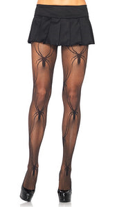 Micronet Black Widow Pantyhose by Leg Avenue : Cats Like Us
