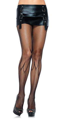 Micronet Flame Pantyhose by Leg Avenue : Cats Like Us