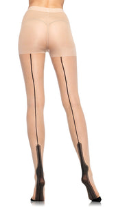 Nude Havana Heel Pantyhose - Cats Like Us