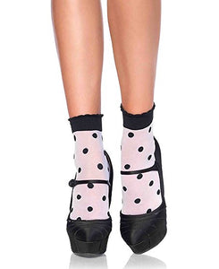 Spots and Dots Anklet by Leg Avenue : Cats Like Us