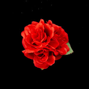 Red Triple Roses Hair Flower by Lila Jo