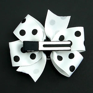 Cats Like Us Polka Dot Bow by Little Lily Designs