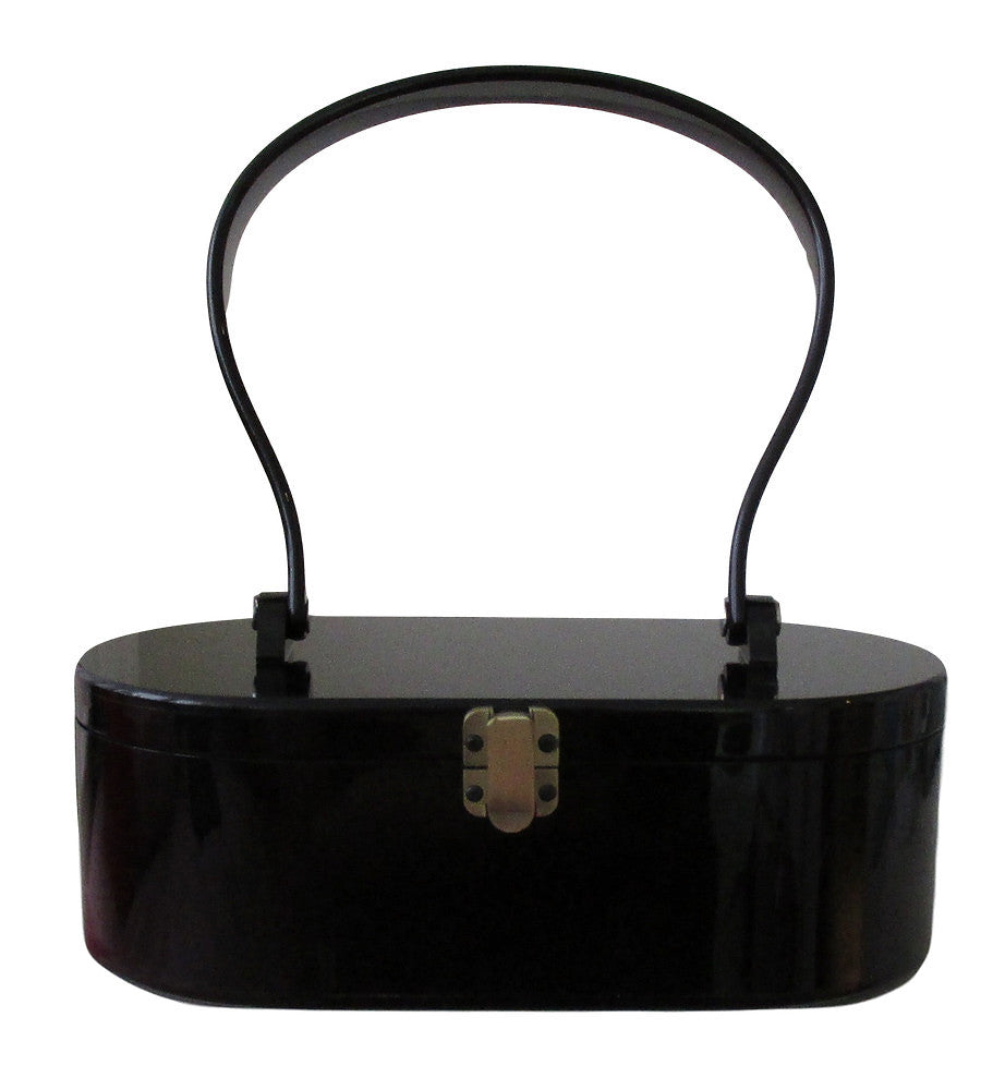 Lola Von Rose Black Lola Von Rose Handbag for sale at Cats Like Us - 1