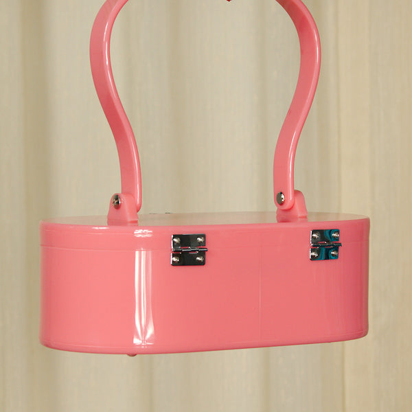 Lola Von Rose Pink Lola Von Rose Handbag for sale at Cats Like Us - 5