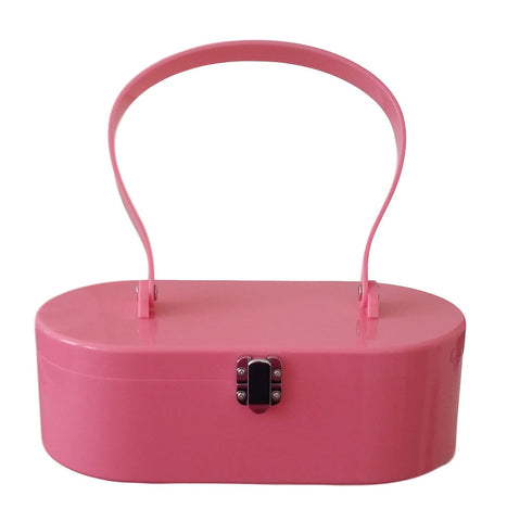 Lola Von Rose Pink Lola Von Rose Handbag for sale at Cats Like Us - 1