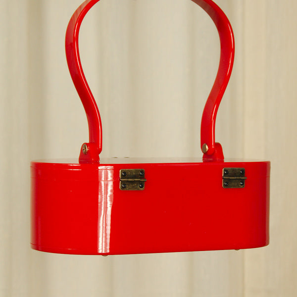Lola Von Rose Red Lola Von Rose Handbag for sale at Cats Like Us - 5