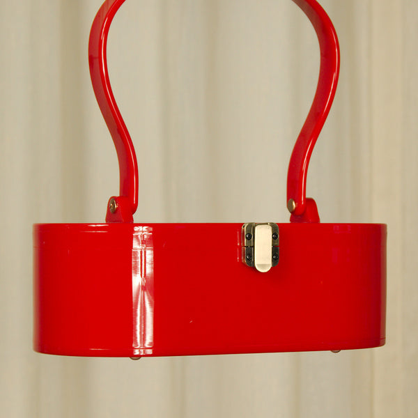 Lola Von Rose Red Lola Von Rose Handbag for sale at Cats Like Us - 3