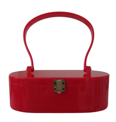 Red Lola Von Rose Handbag