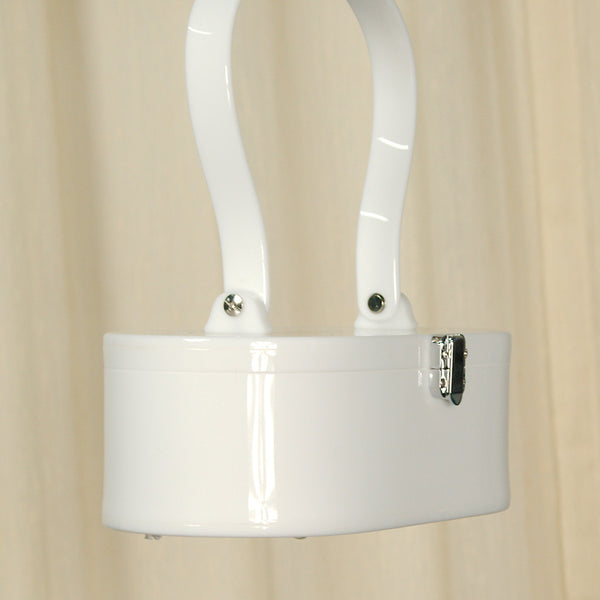 Lola Von Rose White Lola Von Rose Handbag for sale at Cats Like Us - 5