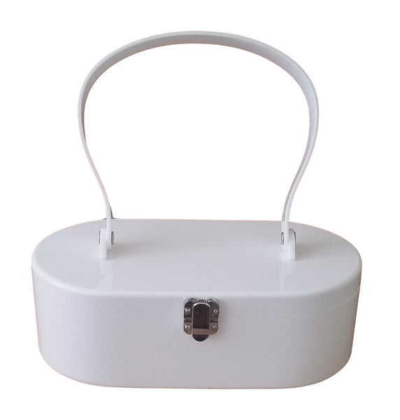 White Lola Von Rose Handbag