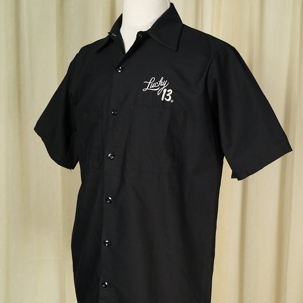 Ace of Spades Work Shirt - Cats Like Us