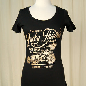 Catch Me Bike Scoop T by Lucky 13 : Cats Like Us