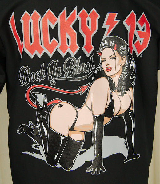 Lucky 13 Femme Metale Work Shirt for sale at Cats Like Us - 2