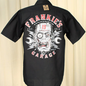 Frankie's Garage Work Shirt - Cats Like Us