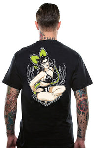 Miss Fink Pinup T Shirt - Cats Like Us