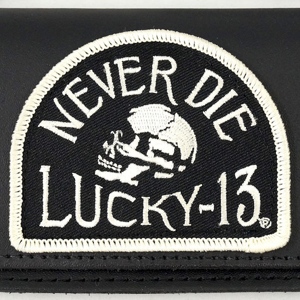 Never Die Lucky 13 Wallet by Lucky 13 : Cats Like Us