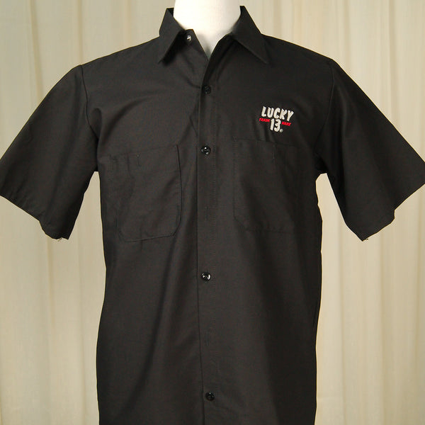 Old 49 Work Shirt by Lucky 13 : Cats Like Us