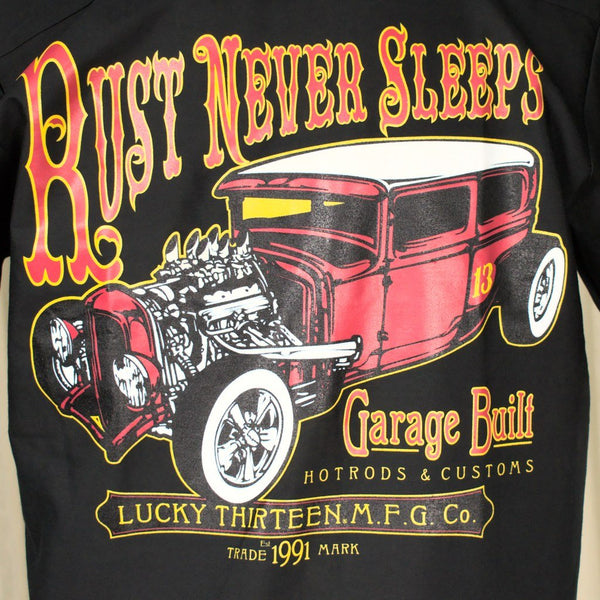 Rust Never Sleeps Work Shirt - Cats Like Us