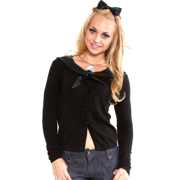 Lucky 13 She Loves Me Knot Cardigan for sale at Cats Like Us - 6