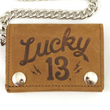 Lucky 13 Shocker Lightening Wallet for sale at Cats Like Us - 2