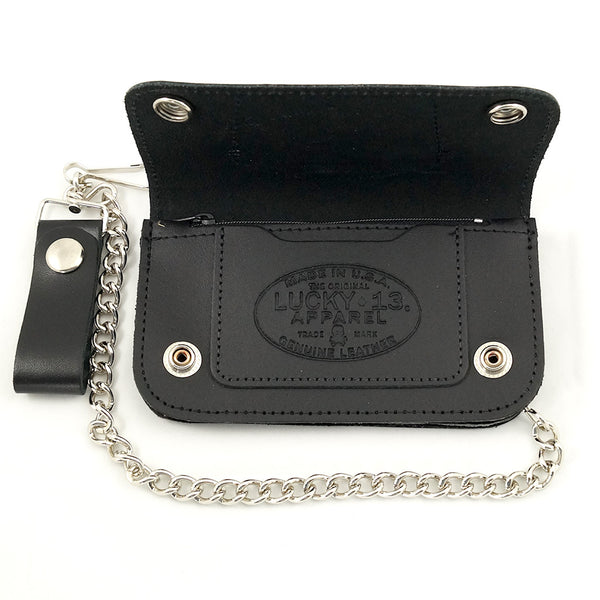 Lucky 13 Slobber Rat Chain Wallet for sale at Cats Like Us - 3