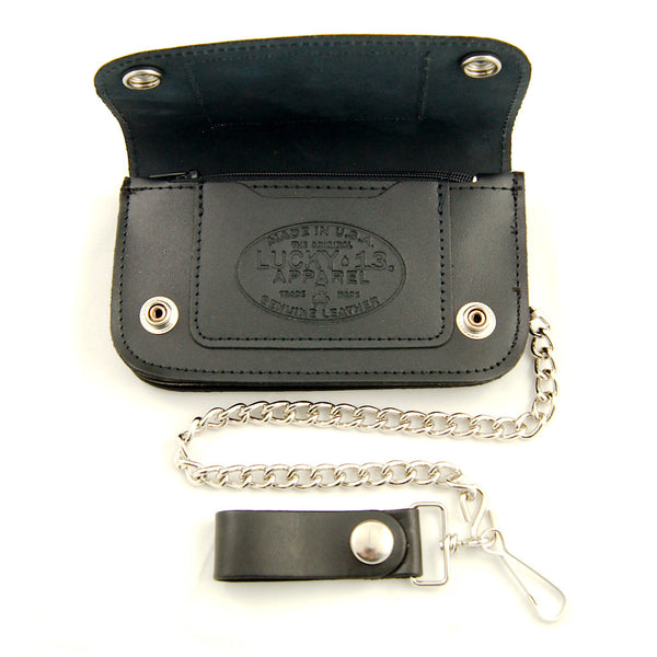 Lucky 13 Smoking Chimp Wallet for sale at Cats Like Us - 2