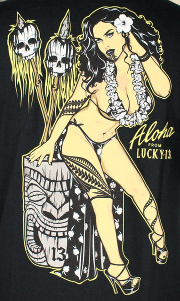 The Talavou Tiki Pinup T - Cats Like Us