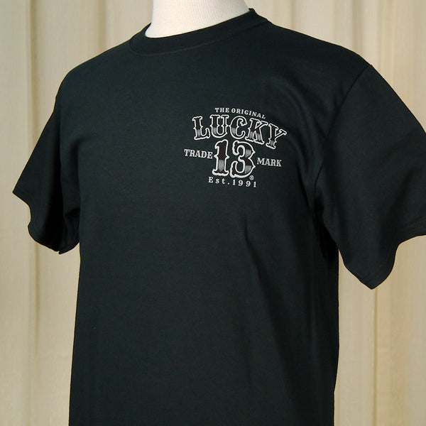 Lucky 13 Tuff Enuff Car T Shirt for sale at Cats Like Us - 6