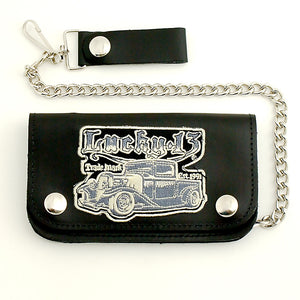 Von Truck Leather Chain Wallet - Cats Like Us