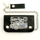 Lucky 13 Von Truck Leather Chain Wallet for sale at Cats Like Us