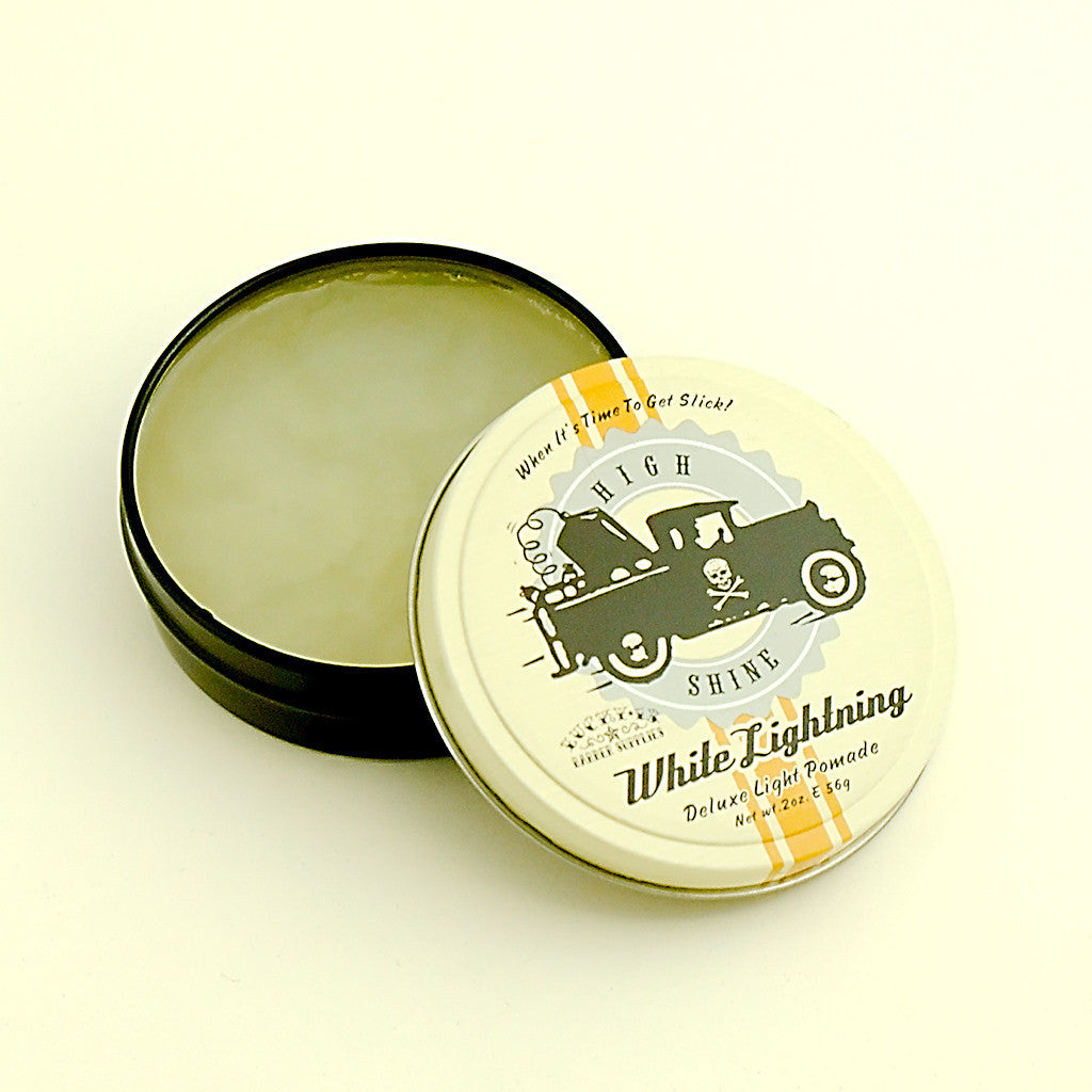 Lucky 13 White Lightning Light Pomade for sale at Cats Like Us - 1
