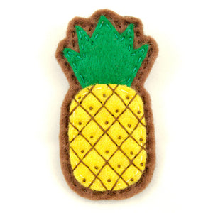 Cute Pineapple Pin Brooch - Cats Like Us