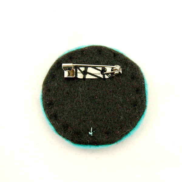 Lumpy Buttons Turquoise and Black NO Kitty for sale at Cats Like Us - 2