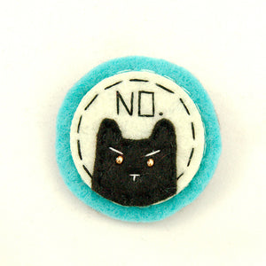 Lumpy Buttons Turquoise and Black NO Kitty for sale at Cats Like Us - 1