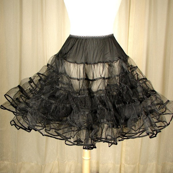 Basic Black Crinoline by Malco Modes