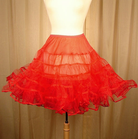Basic Red Crinoline by Malco Modes
