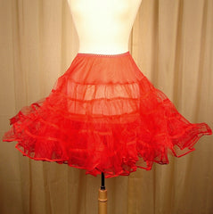 Basic Red Crinoline