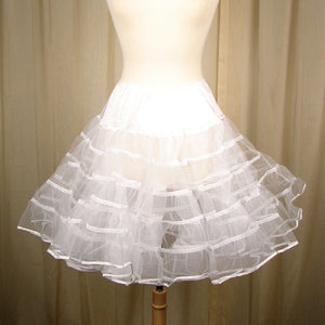Malco Modes Basic White Crinoline for sale at Cats Like Us
