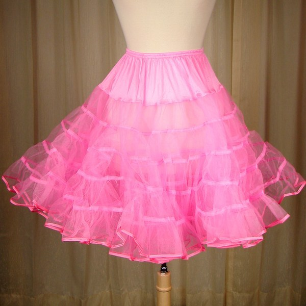 Hot Pink Crinoline by Malco Modes : Cats Like Us