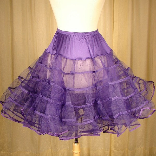 True Purple Crinoline by Malco Modes