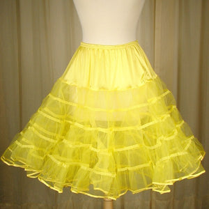 Yellow Crinoline - Cats Like Us