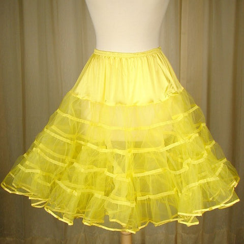 Yellow Crinoline by Malco Modes