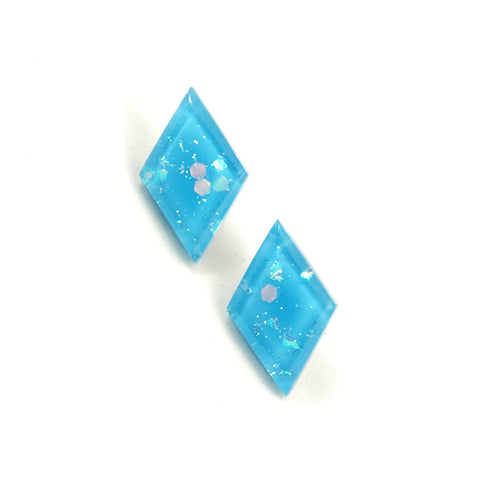 Icicle Small Diamond Earrings by Match Accessories : Cats Like Us