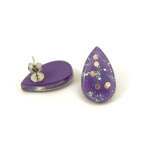 Match Accessories Wisteria Sm Teardrop Earrings for sale at Cats Like Us - 2