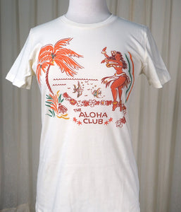 Aloha Club T Shirt - Cats Like Us