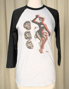 Catwoman Raglan T Shirt - Cats Like Us