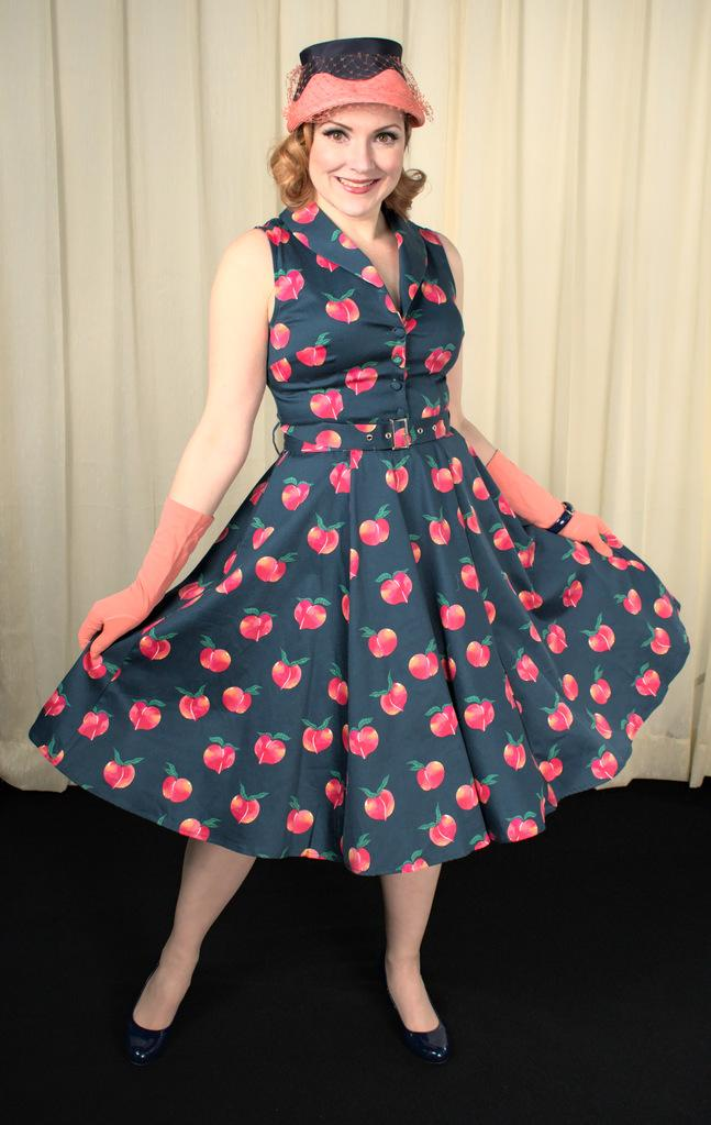 Peaches Jani Swing Dress - Cats Like Us